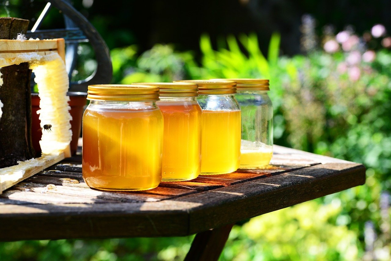 coffret de miel comme cadeau d'entreprise
